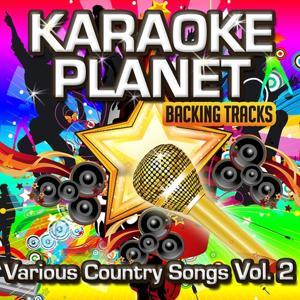 Various Country Songs, Vol. 2 (Karaoke Planetc)