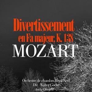 Mozart : Divertissement en Fa majeur, K. 138