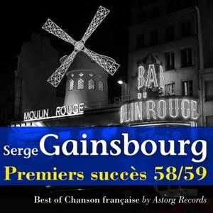 Gainsbourg, premiers succès 58-59