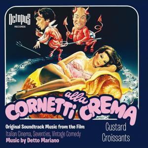 Cornetti Alla Crema (Custard Croissants)