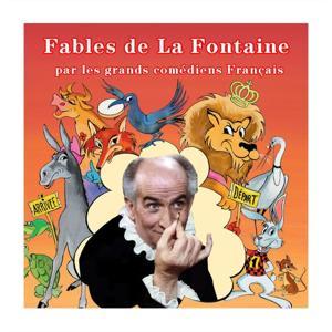 Fables de la Fontaine par les grands comédiens français