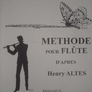Méthode pour flûte d'après Henry Altes