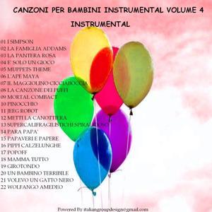 Canzoni per bambini instrumental, vol. 4