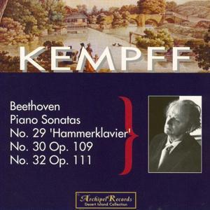 Ludwig van Beethoven : Piano Sonatas No. 29 Hammerklavier, No. 30 Op. 109, No. 32 Op. 111