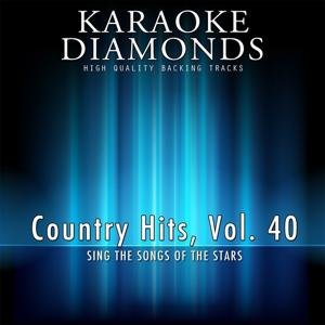 The Best for Country Musicians, Vol. 40 (Karaoke Version)