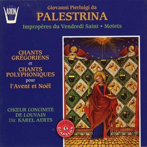 Palestrina : Impropères du vendredi saint, Motets, Chants grégoriens, Chants polyphoniques pour l'avent et noël