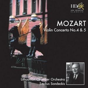 Violin Concerto No.4 in D Major, K.218; Violin Concerto No.5 in A major, K.219