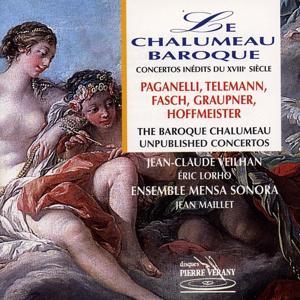 Le chalumeau baroque : Concertos inédits du 18ème siècle