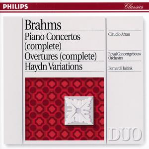 Brahms: Piano Concertos Nos.1 & 2/Haydn Variations etc.