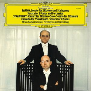 Bartók: Sonata for 2 Pianos and Percussion; Stravinsky: Concerto & Sonata for 2 Pianos