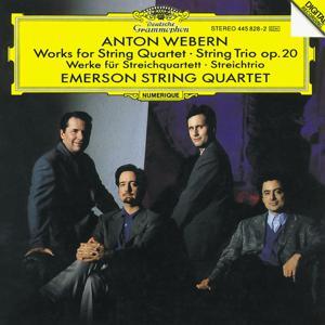 Webern: Works for String Quartet; String Trio Op.20