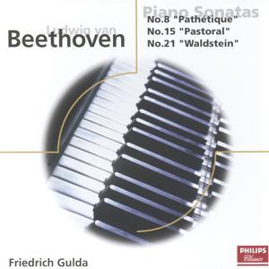 Beethoven: Piano Sonatas Nos. 8, 15, 21, & 22