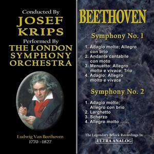 Ludwig Van Beethoven's Symphonies: Symphony No. 1 & Symphony No. 2