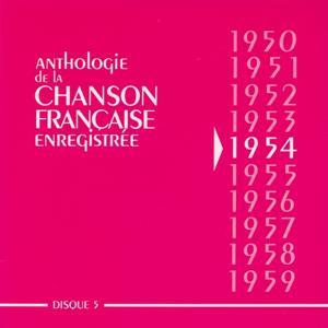 Anthologie de la chanson francaise 1954