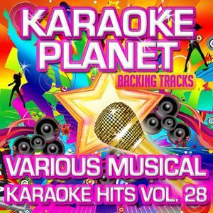 Various Musical Karaoke Hits, Vol. 28 (Karaoke Planet)
