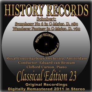 Schubert: Symphony No 6 in C-Major, D. 589 & Wanderer Fantasy in C-Major, D. 760 (History Records - Classical Edition 23 - Original Recordings Digitally Remastered 2011)