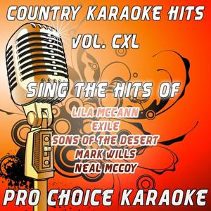 Country Karaoke Hits, Vol. 140 (The Greatest Country Karaoke Hits)
