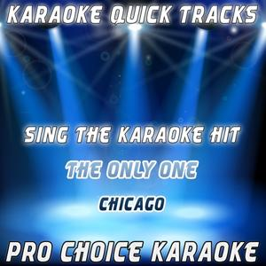 Karaoke Quick Tracks : The Only One (Karaoke Version) (Originally Performed By Chicago)