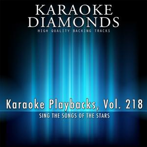 Karaoke Playbacks, Vol. 218