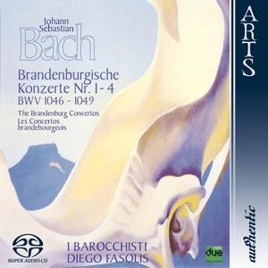 Bach: Brandenburg Concertos Nos. 1-4, BWV 1046-1049