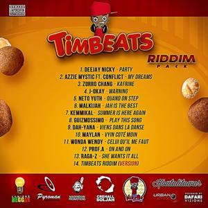 Timbeats Riddim (Produced By Crehall Soljah & Nikooo Prod)
