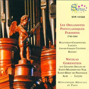 Les organistes post-classiques parisiens