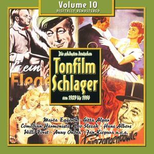 Die schönsten deutschen Tonfilmschlager von 1929 bis 1950, Vol. 10