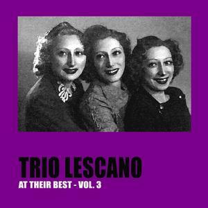 Trio Lescano at Their Best, Vol. 3