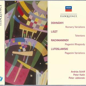 Dohnanyi: Nursery Variations; Liszt: Totentanz; Rachmaninov: Paganini Rhapsody