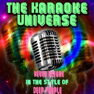 Never Before (Karaoke Version) [in the Style of Deep Purple]