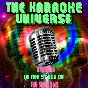 Atlantis (Karaoke Version) [In The Style Of The Shadows]