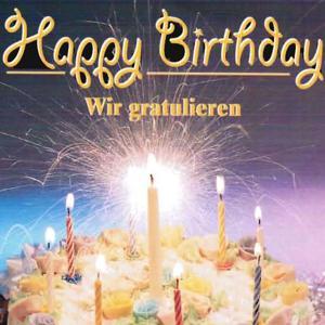 Happy Birthday - wir gratulieren (Playback)