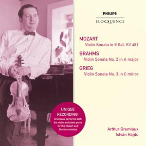 Mozart: Violin Sonata in E Flat; Brahms: Violin Sonata No.2 in A; Grieg: Violin Sonata No.3