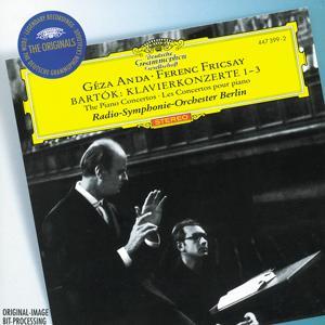 Bartók: Piano Concertos Nos.1-3