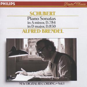 Schubert: Piano Sonatas in A minor, D.784 & D, D.850