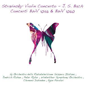 Stravinsky, Violin Concerto - Johann Sebastian Bach, Concerti BWV 1056 & BWV 1060