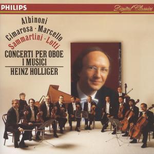 Albinoni / Cimarosa / Marcello / Sammartini / Lotti: Oboe Concertos