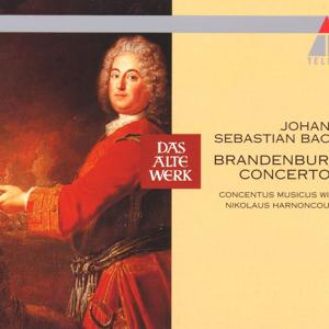 Bach, JS : Brandenburg Concertos Nos 1 - 6 [1964]
