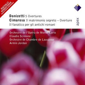 Donizetti, Cimarosa & Mercadante : Overtures & Sinfonias  -  Apex