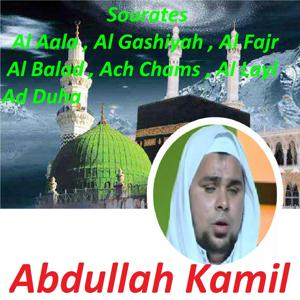 Sourates Al Aala, Al Gashiyah, Al Fajr, Al Balad, Ach Chams, Al Layl, Ad Duha (Quran)