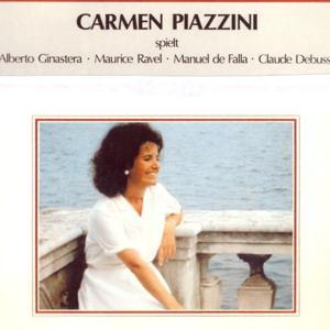 Carmen Piazzini spielt Alberto Ginastera, Maurice Ravel, Manuel de Falla, Claude Debussy