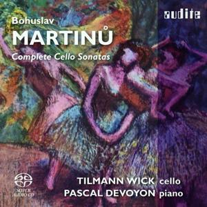 Bohuslav Martinu: Complete Cello Sonatas