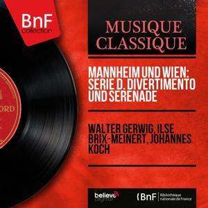 Mannheim und Wien: Serie D. Divertimento und Serenade (Arranged for Lute, Violin and Viol, Mono Version)