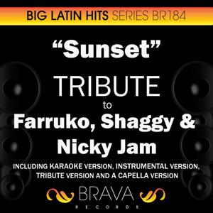 Sunset - Tribute to Farruko, Shaggy & Nicky Jam - EP