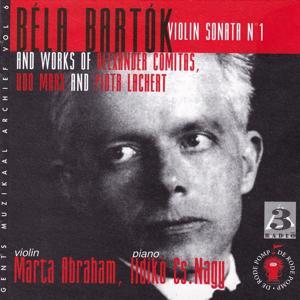 Bartók, Comitas, Marx, Lachert