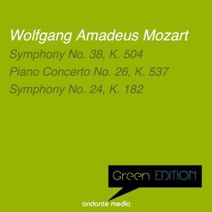Green Edition - Mozart: Symphonies Nos. 38, 24 & Piano Concerto No. 26