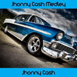 Johnny Cash Medley: Folsom Prison Blues / Luther Played the Boogie / So Doggone Lonesome / I Walk the Line / Get Rhythm / Train of Love / There You Go / Goodbye Little Darling Goodbye / I Love You Because / Straight A's in Love / Next in Line / Don't Make