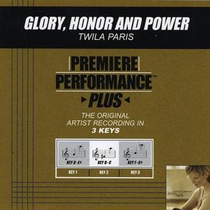 Glory, Honor and Power (Performance Tracks) - EP