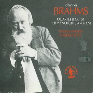 Johannes Brahms: Quartetti per pianoforte a 4 mani, Op. 51