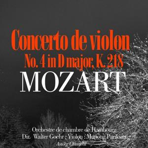 Mozart : Violin Concerto No. 4 In D Major, K. 218